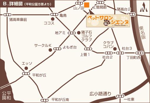 詳細図(平和公園方面より)