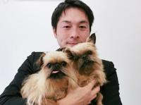 バーデルちゃん&ローチちゃん(ブリュッセルグリフォン)